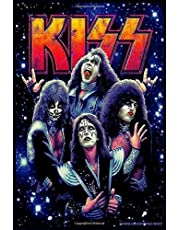 Kiss Rock Band Music Notebook Birthday Reminder. Gift for Kiss band Fan