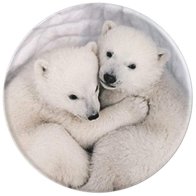 Amazon.com: Bonito diseño de oso polar – Soporte para ...