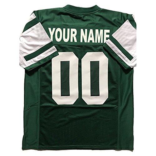 New Jersey York Jets (Custom Football Jerseys Personalized Any Name & Number Cheap Jerseys No Brands/Logos (NY.Jet))