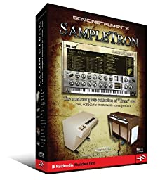 SAMPLETRON SOFTWARE SONIC    INTRUMENTS THE MOST COMPLETE COLLECTION OF TRONS EVER