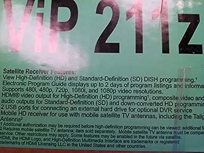 "DISH NETWORK VIP 211Z HDTV SATELLITE RECEIVER ""Prod. Type: Automotive/RV"""