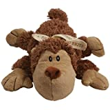 KONG Cozie Spunky the Monkey, Medium Dog Toy, Brown, My Pet Supplies