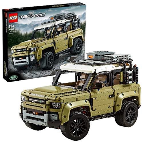 LEGO42110TechnicLandRoverDefenderOffRoad4×4Car,ExclusiveCollectibleModel,AdvancedBuildingSet
