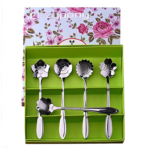 Teaspoons,Cozypony Elegance Teapot Tea S - Demi Spoon Set Shopping Results