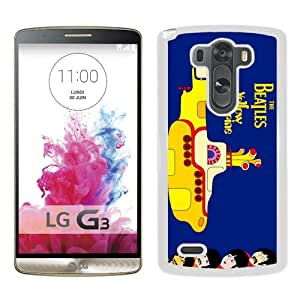 Fashionabe LG G3 Case ,Popular And Unique Designed Case With beatles yellow submarine White LG G3 Cover Phone Case