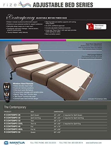 Split King 12' Air Bed Vs Sleep Number with Split King Adjustable Massage...