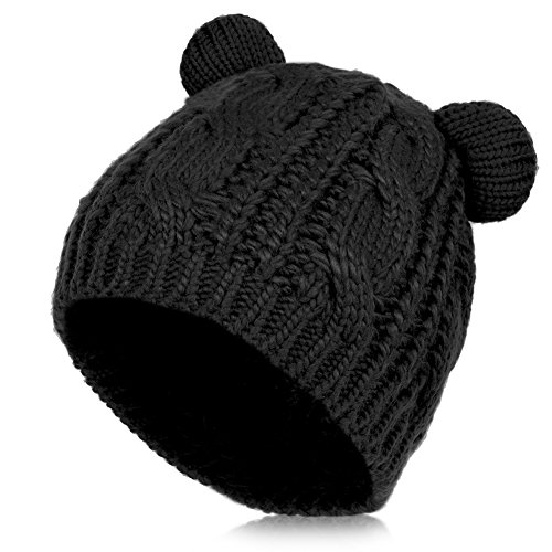 Knitted Winter Hat - 3