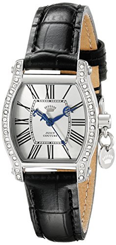 Juicy Couture Women's 1901092 Dalton Mini Analog Display Quartz Black (Mini Ladies Jewelry Watch)