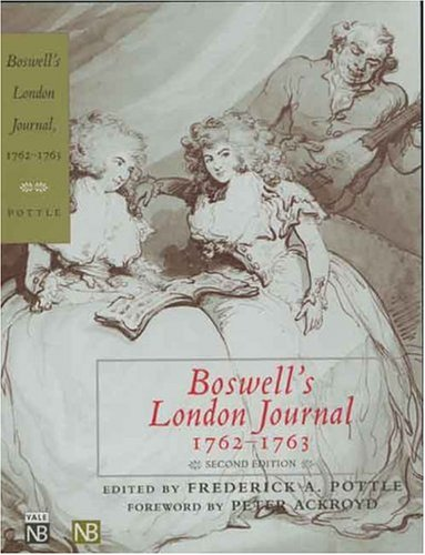 Boswell'S London Journal by Frederick A. Pottle