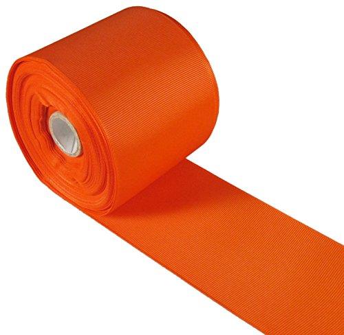 Yds Orange Grosgrain Ribbon - 1