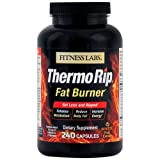Fitness Labs Thermo Rip Fat Burner with Sinetrol® Xpur, Green Tea, Caffeine, L-Tyrosine and Cayenne, 120 Servings Review