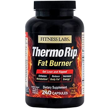 Amazon.com: Fitness Labs Thermo Rip Fat Burner with