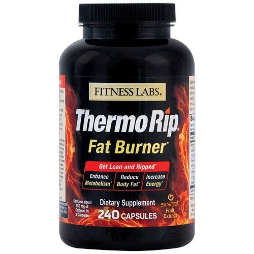 Fitness Labs Thermo Rip Fat Burner with Sinetrol® Xpur, Gre