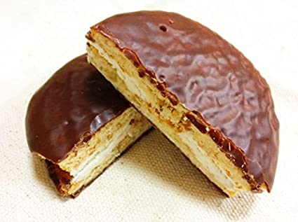Choco Pie chocolate y snack japonés DAGASHI con adhesivo AKIBA KING: Amazon.es: Alimentación y bebidas