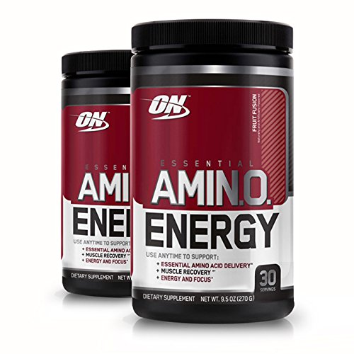 - Optimum Nutrition Essential Amino Energy, Pack of Two 30 Servings (Fruit Fusion 2 x 30 servings)