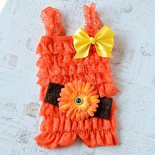 f98f4863921 Amazon.com  Sunflower Cake Smash Girl Outfit  Handmade