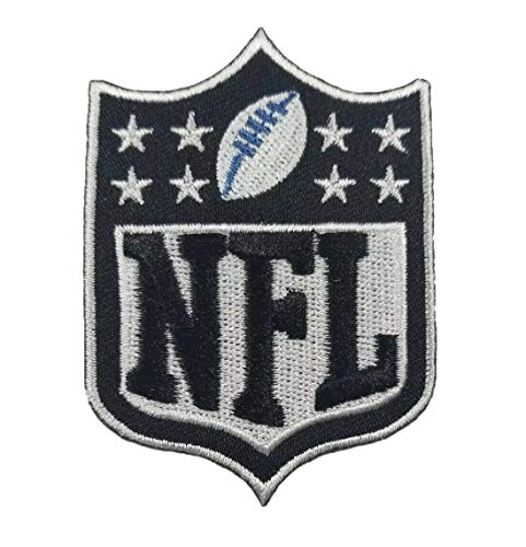 National Football League NFL Logo Iron on Embroidered Patch 2.15 x 2.95 inches