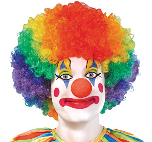 Clown Afro Wig -