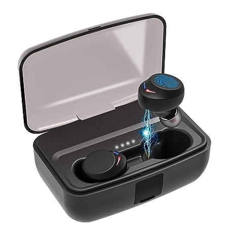 Sport Kopfhörer, Bluetooth Kopfhörer, AceScreen Bluetooth 5.0 HiFi Kopfhörer Wireless Kopfhörer IPX8 Wasserdicht Sport in-Ear