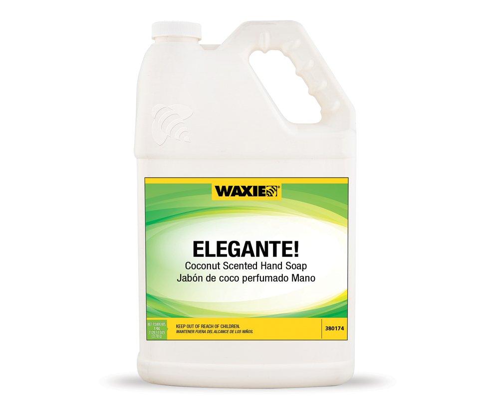 WAXIE Elegante! Hand Soap, Coconut Scent, 1 Gallon (Case of 4)