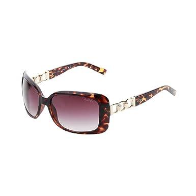 Guess GF6023-5852F Gafas de sol, Negro/Marrón, 58 para Mujer ...