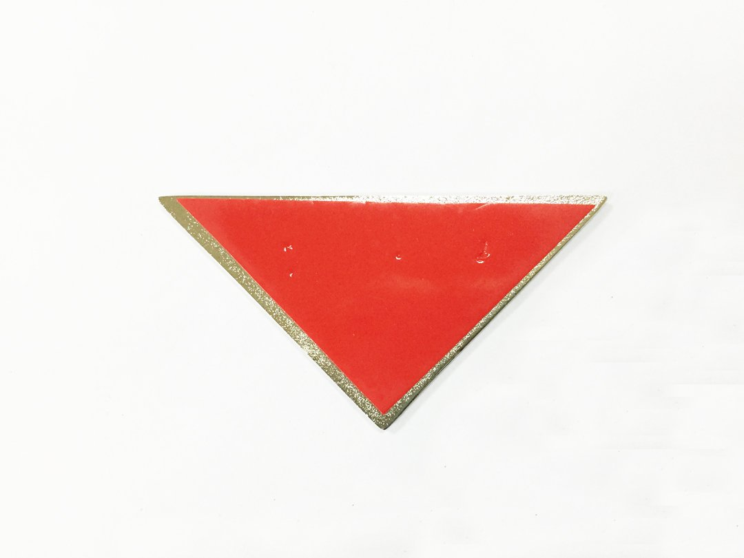 Dian Bin Triangle Sports Zinc Alloy Sticker Vehicle-badge Logo Emblem for Common Type