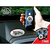 Fan Mats Miami Marlins Get-A-Grips WHITE/ORANGE/BLUE SMALL 1.5 / LARGE 3 SET (2 PACK)