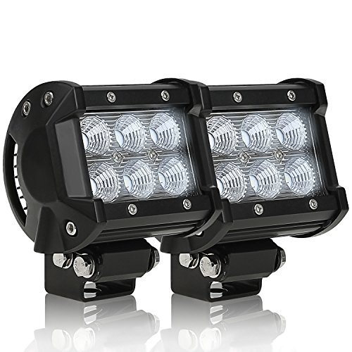 2 PACK 18W Cree LED Off-Road Work Light  - 18w Head Shopping Results