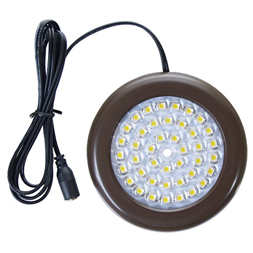 Getinlight Led Puck Lights Kit: Dimmable LED Puck Lights Complete Kit, UL Listed 3.5-inch