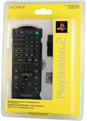 Sony Playstation 2 Infared DVD Remote Controller Kit (2 Playstation Controller Remote)