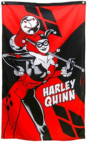 (Harley Quinn Banner Fabric Poster 30 x 50)