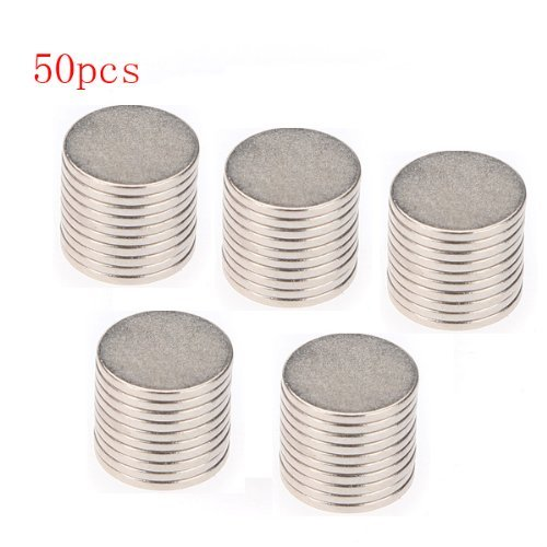 Big Bargain 50x10mm x 1mm Disc Rare Earth Neodymium Super strong Magnet N35 Craft Models UKPPLBDH4158