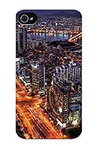 New Style Tpu 4/4s Protective Case Cover/ Iphone 4/4s Case - Seoul