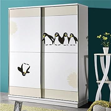 EWQHD La Reserva Divertida Cocina Nevera Pingüino Etiquetas De ...
