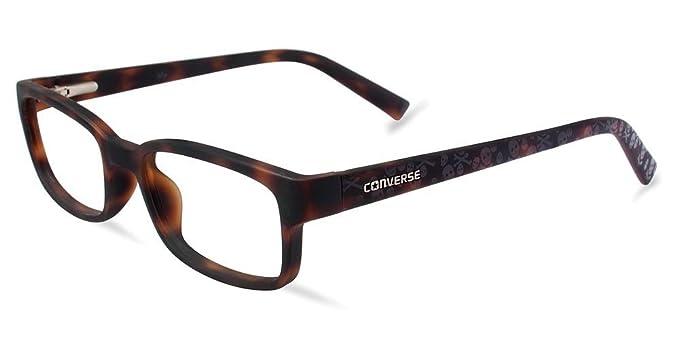 ae36ec72e43c Amazon.com: Eyeglasses Converse K018 Tortoise: Clothing