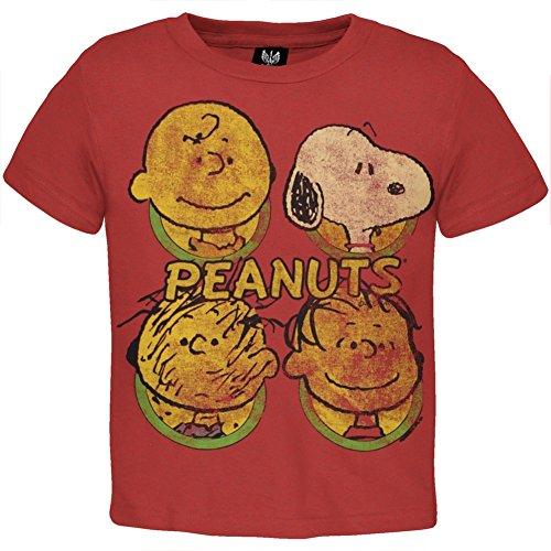 Peanuts - Heads Toddler T-Shirt - 4T 4T (Peanut Head)