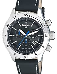 Traser Master Prestige Chronograph Watch with Sapphire Crystal, 12-Hour Totalizer 105880