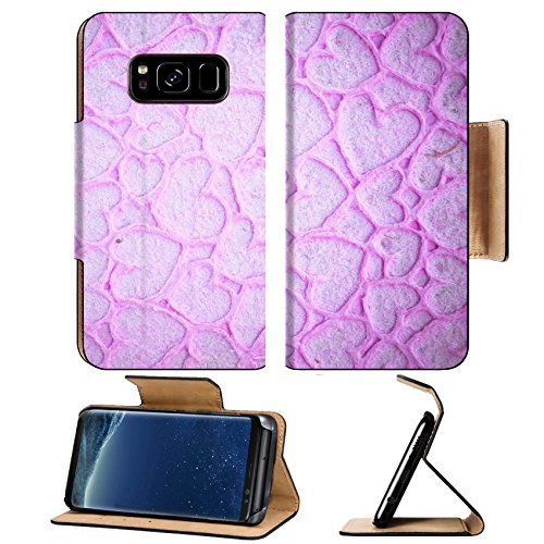 Galaxy S8 Flip Pu Leather Wallet Case IMAGE ID: 35226506 Designed detailed paper textured background High resolution recycled colorful white and pink cardstock ()