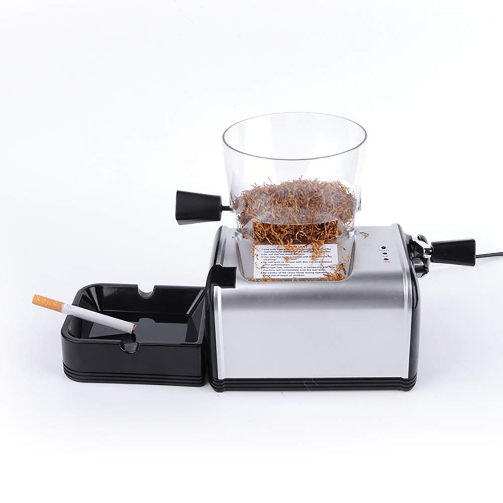 DIY Electric Cigarette Rolling Machine Mini Maker with Abrasive Tobacco Function