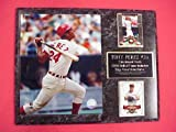 Reds Tony Perez 2 Card Collector Plaque