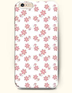 Case Cover For HTC One M8 Small Multicolored Flowers and Leaves