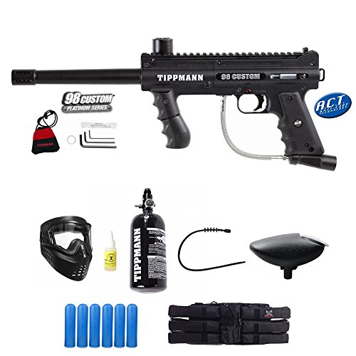(Tippmann 98 Custom PS A.C.T Paintball Gun Empire HPA N2 Advance Package)