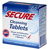 Sanhelios Denture Cleanser, 32 tabs (Pack of 2)