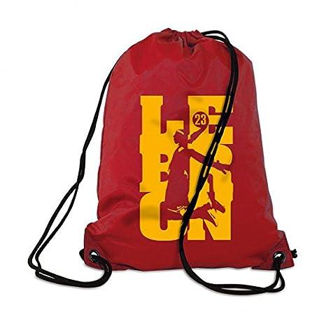 0a373d905c Lebron James 23 Zaino Borsa Sacca Gym Bag Borsa da spiaggia Beach Back  Pack, Rot