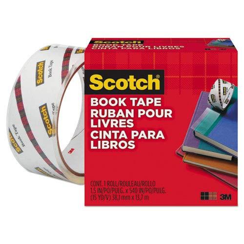 [해외]Wholesale CASE of 25 - 3M Scotch Book Tape-Book Tape 3 Core Size 1-12 x 15 Yards Clear / Wholesale CASE of 25 - 3M Scotch Book Tape-Book Tape, 3 Core Size, 1-12 x 15 Yards, Clear