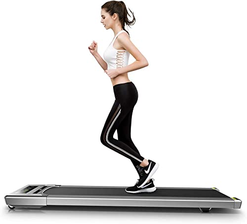 RHYTHM FUN Treadmill Under Desk Treadmill Folding Portable Walking Treadmill