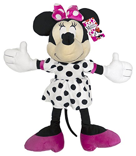 Disney Minnie Mouse Dots Are New Black Plush Pillow Buddy