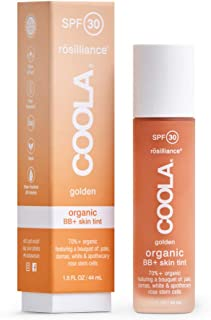 product image for COOLA Organic Rosilliance BB+ Cream, Tinted Moisturizer Sunscreen & Skin Care, Broad Spectrum SPF 30, Reef Safe
