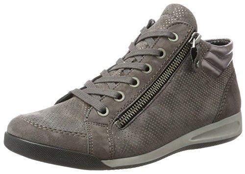 Dames Ara Rom-stf 12-44410 Haute Chaussures Gris (rue)