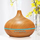 New-2016-Modern-Zen-House-300-ml-Essential-Oil-Diffuser-Ultrasonic-Humidifier-Aromatherapy-Modern-Zen-House-Wood-Grain-Perfect-Gift